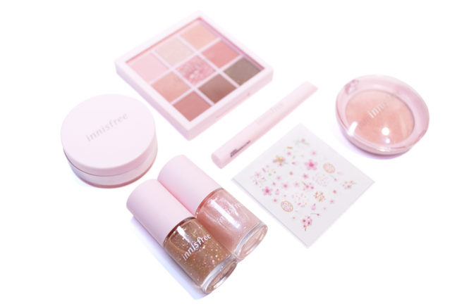 Innisfree Cherry Blossom Collection Kbeauty Review