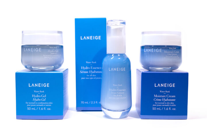 Laneige Water Bank Collection Hydro Gel Moisture Cream Hydro Essence Review