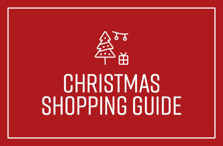 Xmas Shopping Guide 2020 - Header